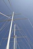 De mast van het schip stock afbeelding