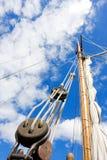 De mast van Tallship royalty-vrije stock afbeeldingen