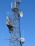 De mast van telecommunicatie Stock Foto