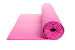 De Mat van de yoga Stock Afbeeldingen