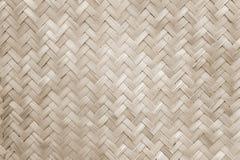 De mat van het bamboe Stock Foto's