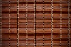 De mat van het bamboe Stock Foto