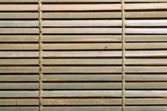De mat van het bamboe Stock Afbeeldingen