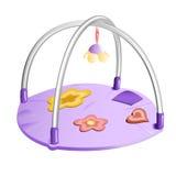 De Mat van het Spel van de baby Stock Foto