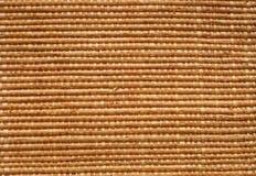 De mat van het stro Stock Foto