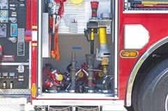 De maten en de instrumenten van Firetrucks Stock Foto's
