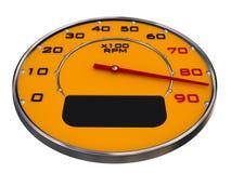 De maten van de auto Stock Afbeelding
