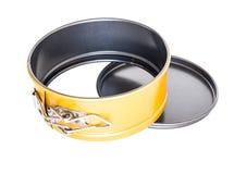 De materiële sferische pan non-stick deklaag van het bakselbrood Stock Fotografie