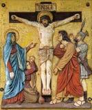 De matrijzen van Jesus op het kruis, 12de Posten van het Kruis Royalty-vrije Stock Afbeeldingen