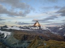 de Matterhorn-piek Royalty-vrije Stock Fotografie