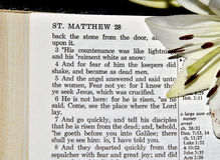 28:5 de Matthew Images libres de droits