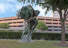 ` De maturation de ` par Andrew Rogers, Hall Park, Frisco, le Texas Photographie stock libre de droits
