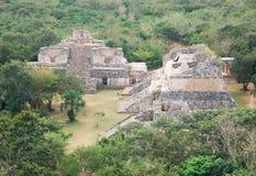 De Mayan plaats - Ek Balam Stock Fotografie