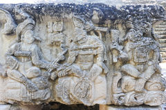De Mayan ruïnes van Copan Stock Foto