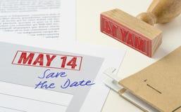 14 de mayo Imagen de archivo