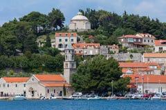 3 de mayo de 2019, Cavtat, Croacia Mausoleo de la familia de Racic imagenes de archivo