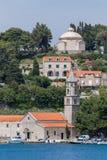 3 de mayo de 2019, Cavtat, Croacia Mausoleo de la familia de Racic foto de archivo