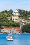 3 de mayo de 2019, Cavtat, Croacia Mausoleo de la familia de Racic foto de archivo libre de regalías
