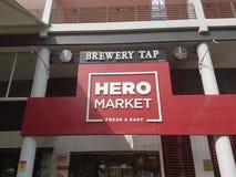 21 de mayo de 2017, Damansara Kuala Lumpur Mercado Sri Damansara del héroe Imagenes de archivo