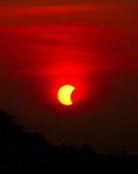 9 de mayo de 2016 eclipse Fotos de archivo libres de regalías