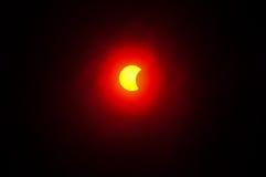 9 de mayo de 2016 eclipse Imagen de archivo libre de regalías