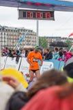 3 de mayo de 2015 maratón de la armonía en Ginebra Suiza Foto de archivo