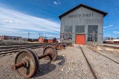 11 de mayo de 2015 Nevada Northern Railway Museum, Ely del este Fotografía de archivo
