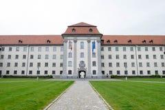 6 de mayo de 2017 - St Gallen, Suiza: Klosterhof, una parte de b Fotos de archivo