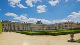 9 DE MAYO DE 2015 - VERSALLES, FRANCIA: El palacio de Versalles y de i Imagen de archivo