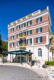 3 de mayo de 2019, Dubrovnik, Croacia Hotel magn?fico imperial foto de archivo