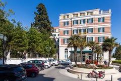 3 de mayo de 2019, Dubrovnik, Croacia Hotel magn?fico imperial imágenes de archivo libres de regalías