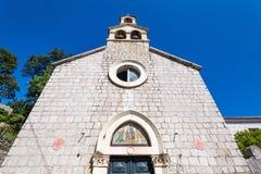 3 de mayo de 2019, Dubrovnik, Croacia Iglesia de St Andrew foto de archivo libre de regalías
