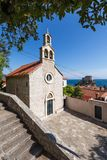 3 de mayo de 2019, Dubrovnik, Croacia Iglesia de St Andrew foto de archivo
