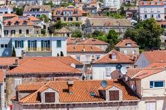 5 de mayo de 2019, Dubrovnik, Croacia Parte moderna de la ciudad imagen de archivo libre de regalías