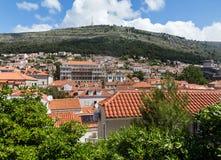 5 de mayo de 2019, Dubrovnik, Croacia Parte moderna de la ciudad imagenes de archivo