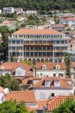 5 de mayo de 2019, Dubrovnik, Croacia Parte moderna de la ciudad fotografía de archivo