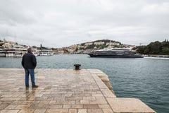 4 de mayo de 2019, Dubrovnik, Croacia Puerto de Dubrovnik fotos de archivo libres de regalías