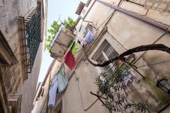 4 de mayo de 2019, Dubrovnik, Croacia Vieja configuraci?n de la ciudad imagen de archivo libre de regalías
