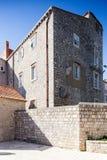 3 de mayo de 2019, Dubrovnik, Croacia Vieja configuraci?n de la ciudad fotografía de archivo libre de regalías