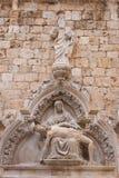 4 de mayo de 2019, Dubrovnik, Croacia Vieja configuraci?n de la ciudad foto de archivo libre de regalías