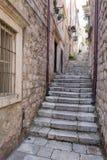 3 de mayo de 2019, Dubrovnik, Croacia Vieja configuraci?n de la ciudad imagen de archivo