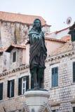 4 de mayo de 2019, Dubrovnik, Croacia Vieja configuraci?n de la ciudad fotos de archivo libres de regalías