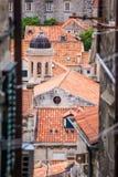 4 de mayo de 2019, Dubrovnik, Croacia Vieja configuraci?n de la ciudad fotos de archivo