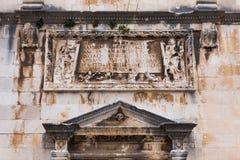 4 de mayo de 2019, Dubrovnik, Croacia Vieja configuraci?n de la ciudad imágenes de archivo libres de regalías