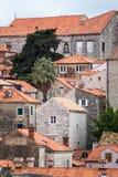4 de mayo de 2019, Dubrovnik, Croacia Vieja configuraci?n de la ciudad fotografía de archivo libre de regalías