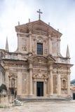 4 de mayo de 2019, Dubrovnik, Croacia Vieja configuraci?n de la ciudad fotografía de archivo