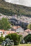 5 de mayo de 2019, Dubrovnik, Croacia Vieja configuraci?n de la ciudad imagen de archivo libre de regalías