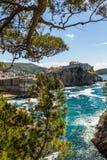 5 de mayo de 2019, Dubrovnik, Croacia Vieja configuraci?n de la ciudad fotos de archivo