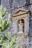 5 de mayo de 2019, Dubrovnik, Croacia Vieja configuraci?n de la ciudad fotos de archivo libres de regalías