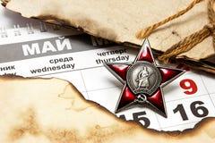 9 de mayo a Victory Day Fotografía de archivo libre de regalías